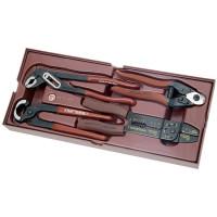 Coquille de 4 pinces universelles-4900-08B - Outillage pour tiroir de servante-consogarage.com