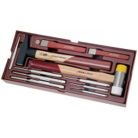Coquille outils de frappe Completo 11 pièces-4900-56B - Outillage pour tiroir de
