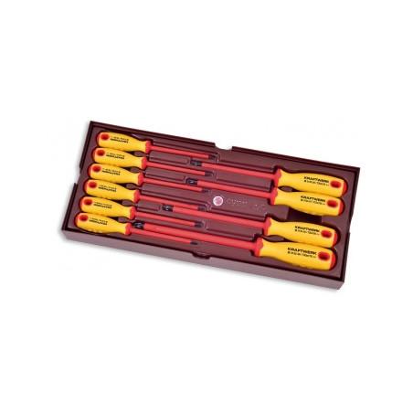 Coquille de tournevis TX d'électricien-4900-64B - Outillage pour tiroir de servante-consogarage.com