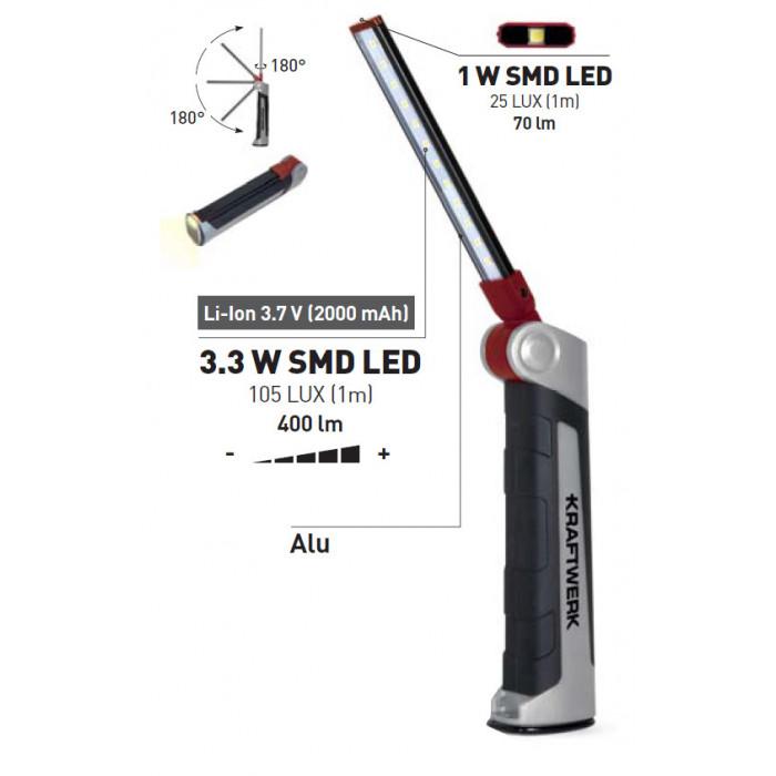 Lampe à LED SLIMFLEX-32085 - Eclairage-consogarage.com