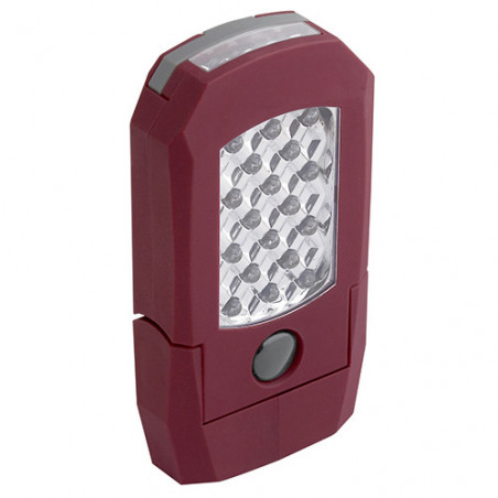 Lampe accu rechargeable 18 + 4 LEDS pratique-32008 - Eclairage-consogarage.com