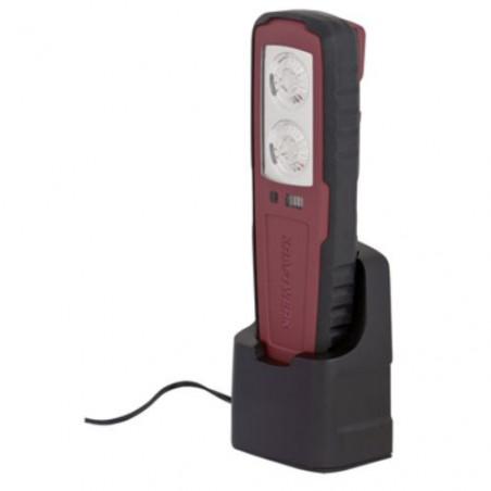 Lampe accu rechargeable 2x1 W LED-32014 - Eclairage-consogarage.com