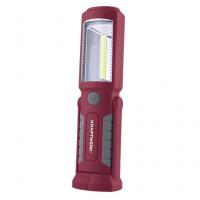 Mini lampe de poche rechargeable LED COB + 3 LED-32069 - Eclairage-consogarage.com