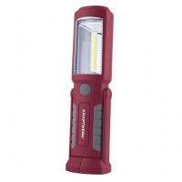 Mini lampe de poche rechargeable LED COB + 3 LED-32069 - Eclairage-consogarage.com