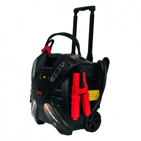 Booster de démarrage 12-24V avec roue-31307 - Electricité-consogarage.com