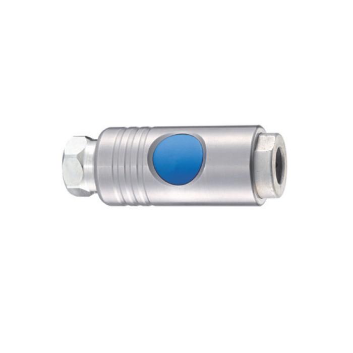 Raccord rapide sécurité pour flxible 13 mm femelle taraudage femelle 1/2 -ISI11A - Raccords rapides