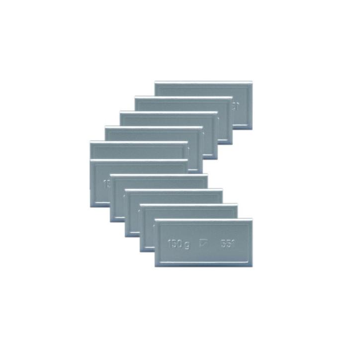 Masse adhesive en plomb pour jante en aluminium PL (boite de 10)-50 - Masses équilibrage -