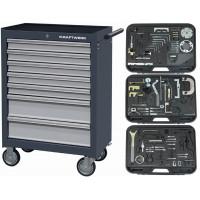 Servante équipée pour calage de distribution-102100900 - Mécanique générale-consogarage.com
