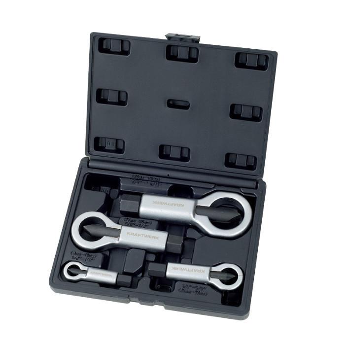 coffret de 4 casses-écrous-30011 - Mécanique générale-consogarage.com