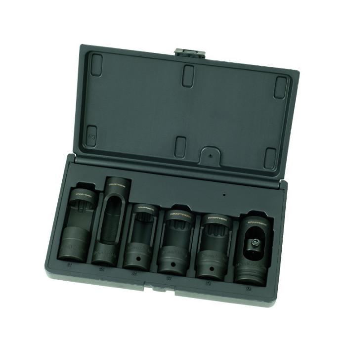 Coffret de 6 douilles pour injecteurs Diesel-30636 - Mécanique générale-consogarage.com