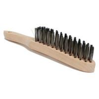 Brosse métallique à poils durs-10645 - Complément pour le montage de pneu-consogarage.com