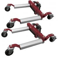 Lots de deux chariots de manutention-38116 - Complément pour le montage de pneu-consogarage.com