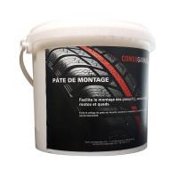 Pâte de montage blanche 5kg-ACWPG05 - Complément pour le montage de pneu-consogarage.com