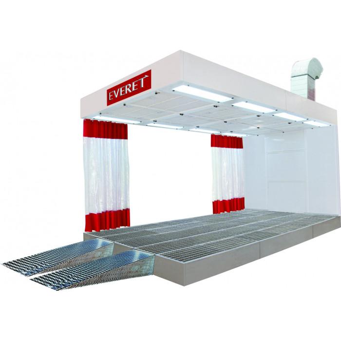 Cabine de préparation à parois souples-EE7660 - Cabine de peinture-consogarage.com