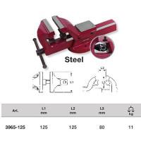 Étau d'installateur en acier 125 mm-2962-125 - Presse hydraulique - Étau - Marteau -