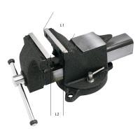 Étau d'établi en acier-2963 - Presse hydraulique - Étau - Marteau - Burin-consogarage.com