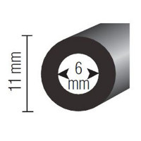 Tuyau souple à tresse textile diamètre intérieur 6 mm-100050 - Gonflage-consogarage.com