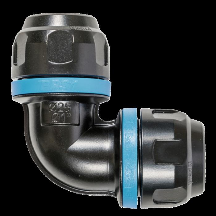 Coude égal aluminium 90° pour tubes Ø20mm-PPS19C20 - Réseau d'air-consogarage.com