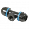 Té fileté femelle cylindrique G 1/2'' aluminium pour tubes Ø20mm-PPS1TT2012 - Réseau