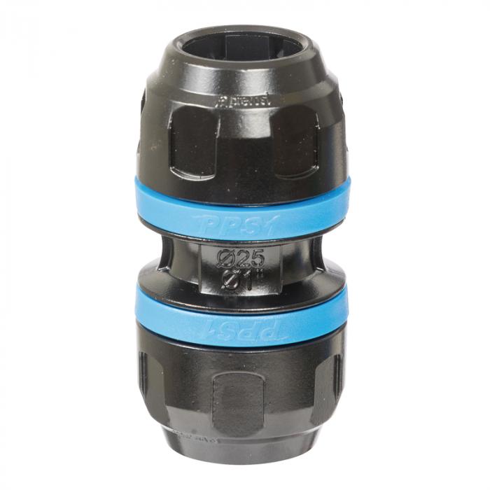 Union simple aluminium pour tubes Ø20mm-PPS1UN20 - Réseau d'air-consogarage.com