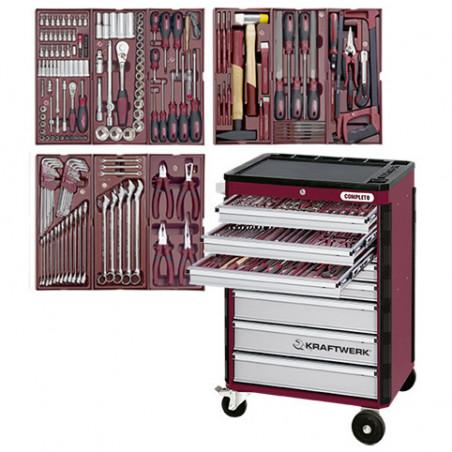 Servante d'atelier HIGHTECH 191 outils-3908-4911 - Servantes - Établis - Mobilier-consogarage.com