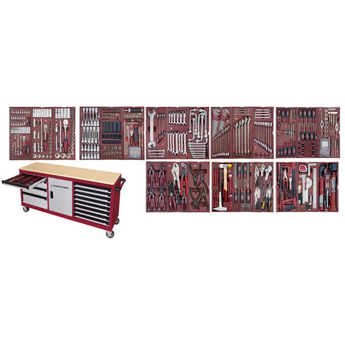 Servante d'atelier HIGHTECH XXL avec 549 outils-3936-4920F - Servantes - Établis -