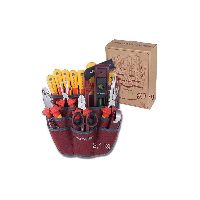 Jeu de 20 outils isolés 1000 V-3996ET - Malette - Valise - Caisse à outils-consogarage.com