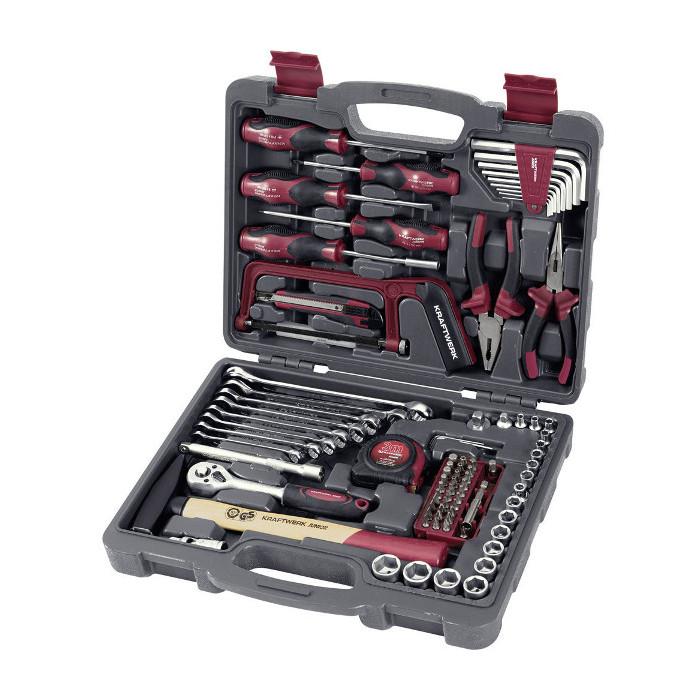 Coffret d'outils universel 100 pièces-1042 - Malette - Valise - Caisse à outils-consogarage.com