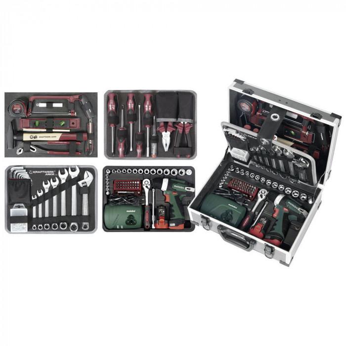Coffret de 162 outils universel-1051 - Malette - Valise - Caisse à outils-consogarage.com