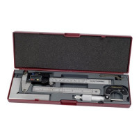 Jeu de 4 instruments de mesure-2980 - Malette - Valise - Caisse à outils-consogarage.com