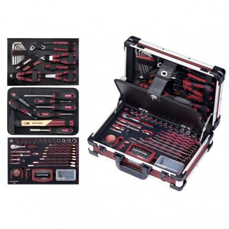 Coffret de 123 outils-3944 - Malette - Valise - Caisse à outils-consogarage.com