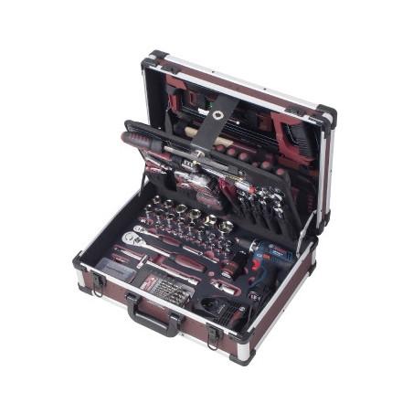 Coffret de 264 outils avec perceuse-3949 - Malette - Valise - Caisse à outils-consogarage.com