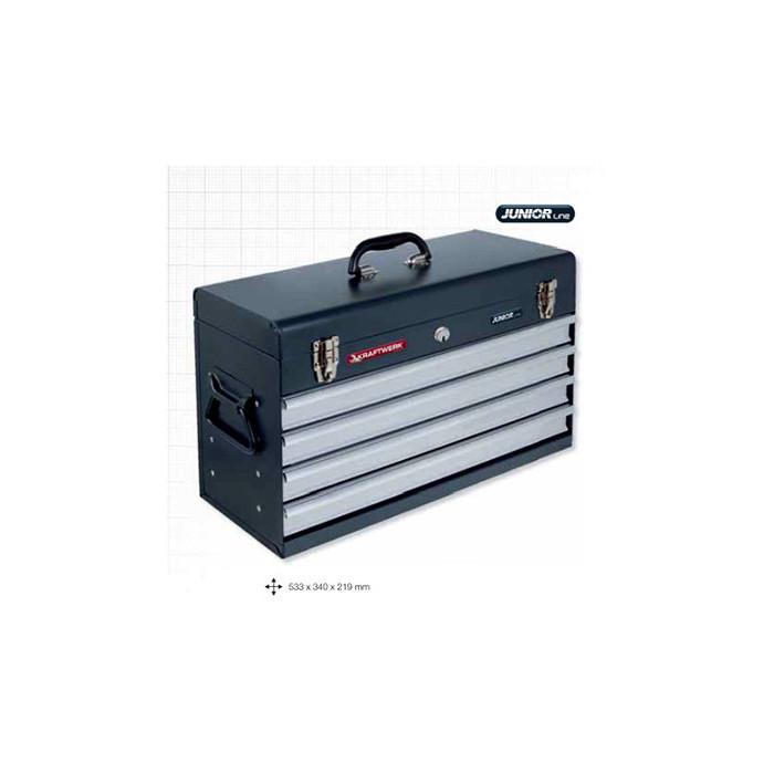 Coffre à outils vide-1046E - Malette - Valise - Caisse à outils-consogarage.com