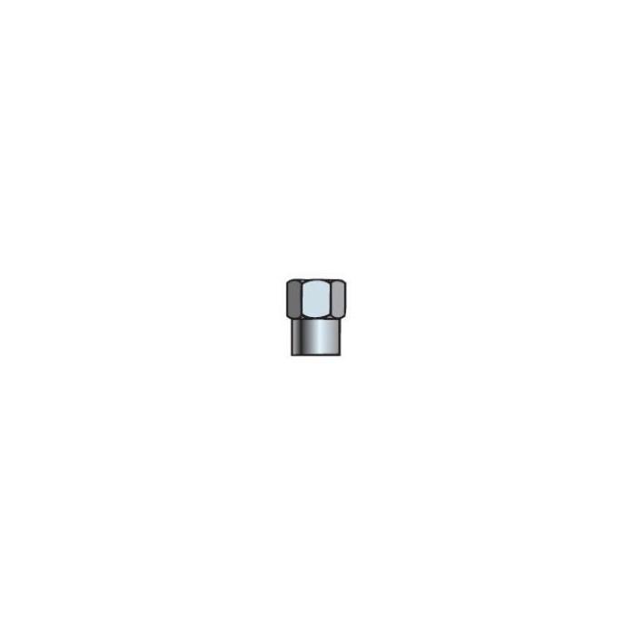 Bouchon de valve chromé avec joint-33190 - Valves tubeless - Accessoires-consogarage.com
