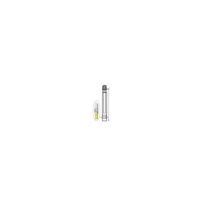 rallonge valve droite en plastique (sachet de 10)-383005000 - Valves tubeless -