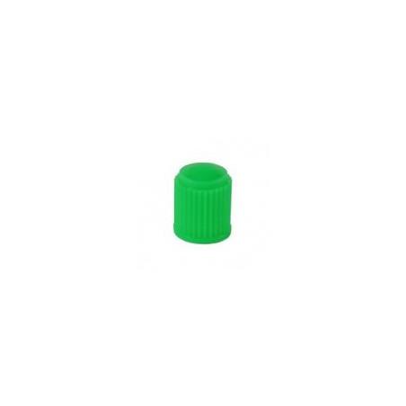 Bouchon de valve vert avec joint-W115 - Valves tubeless - Accessoires-consogarage.com