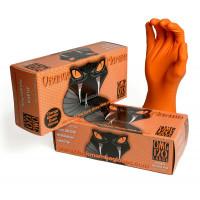 Gants de travail en Nitrile Orange Mamba-BX-OMG - Vêtements et Gants-consogarage.com