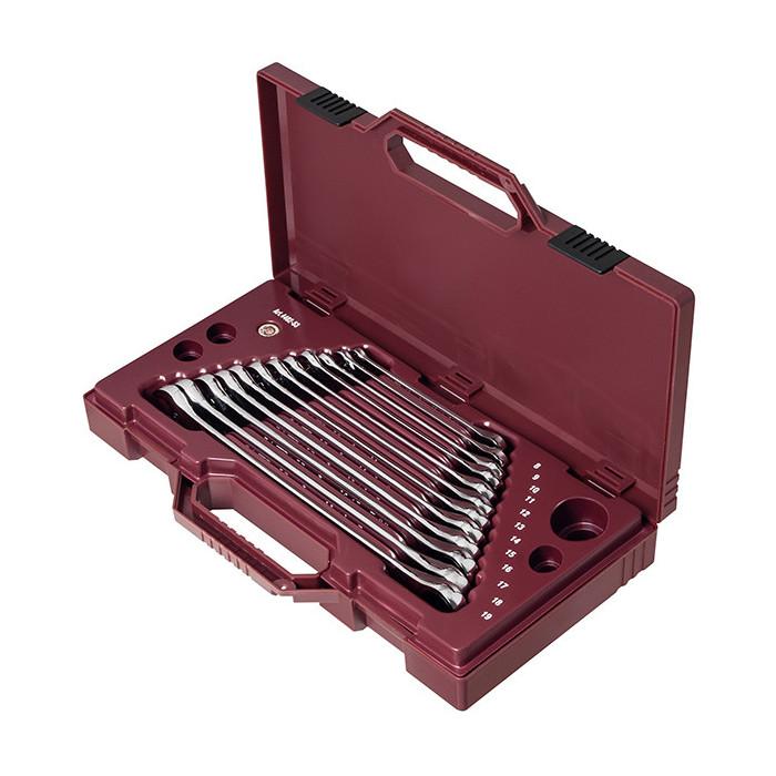 Coffret de 12 clés mixtes à cliquet extra longues-4402-53 - Clés - Douilles-consogarage.com