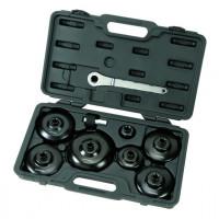 Coffret de 9 cloches pour filtre à huile PL-30621 - Vidange-consogarage.com
