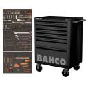 Servante noire BAHCO 7 tiroirs nouvelle génération 216 outils