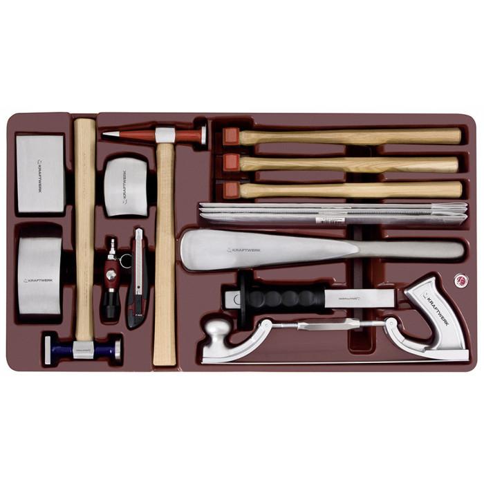 Sélection d'outils carrosserie