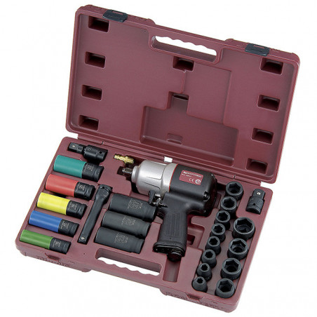 Clé à chocs industrielle pneumatique et outils universels-3837K - Outillage serrage-consogarage.com