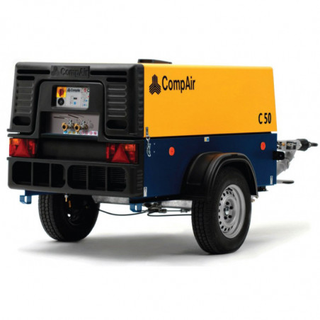 Compresseur de chantier - 7bar 5m³/min 35