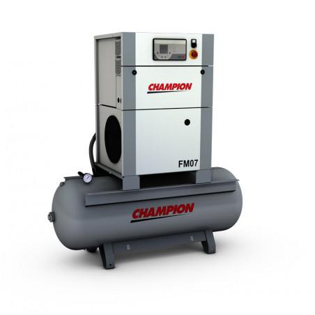 Compresseur à vis FM7 avec cuve 270 / 500 Litres -FM7X - Compresseurs-consogarage.com