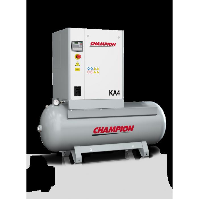 Compresseur à vis KA4 avec cuve 270 / 500 Litres -KA4X - Compresseurs-consogarage.com