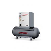 Compresseur à vis KA5 avec cuve 270 / 500 Litres -KA5X - Compresseurs-consogarage.com