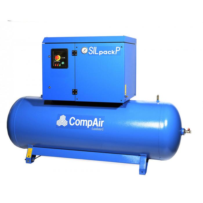Compresseur sur chassis 10 CV 12bars- 500 litres-SILPACK-P630-500 - Compresseurs-consogarage.com