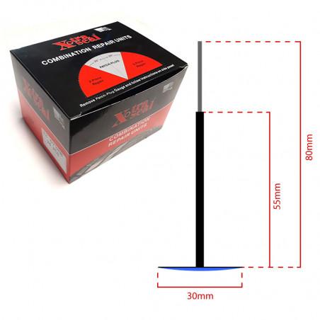Chevilles champignon Ø 3 mm-13670 - Produits et outillage réparation-consogarage.com