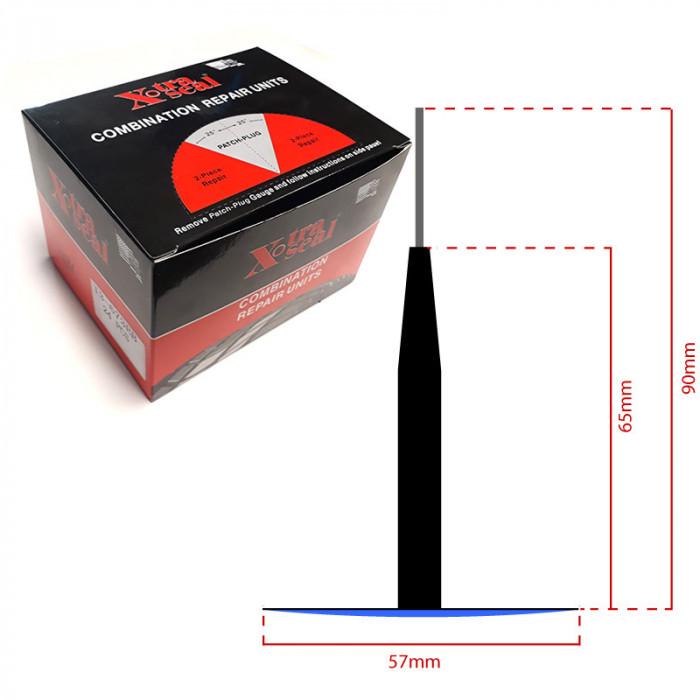 Chevilles champignon Ø 8 mm-13674 - Produits et outillage réparation-consogarage.com