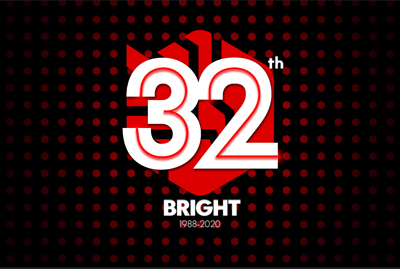 Logo Anniversaire Bright